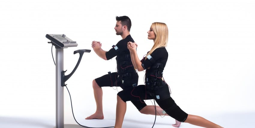 Exercise d'électrostimulation